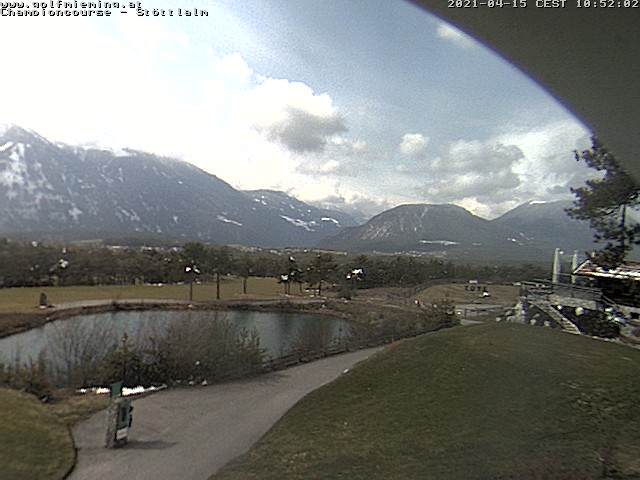 Webcam Greenvieh - Golfpark Mieminger Plateau