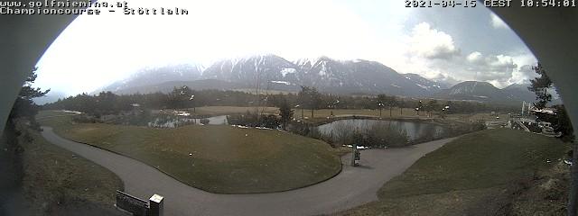 Webcam Stoettlalm - Golfpark Mieminger Plateau